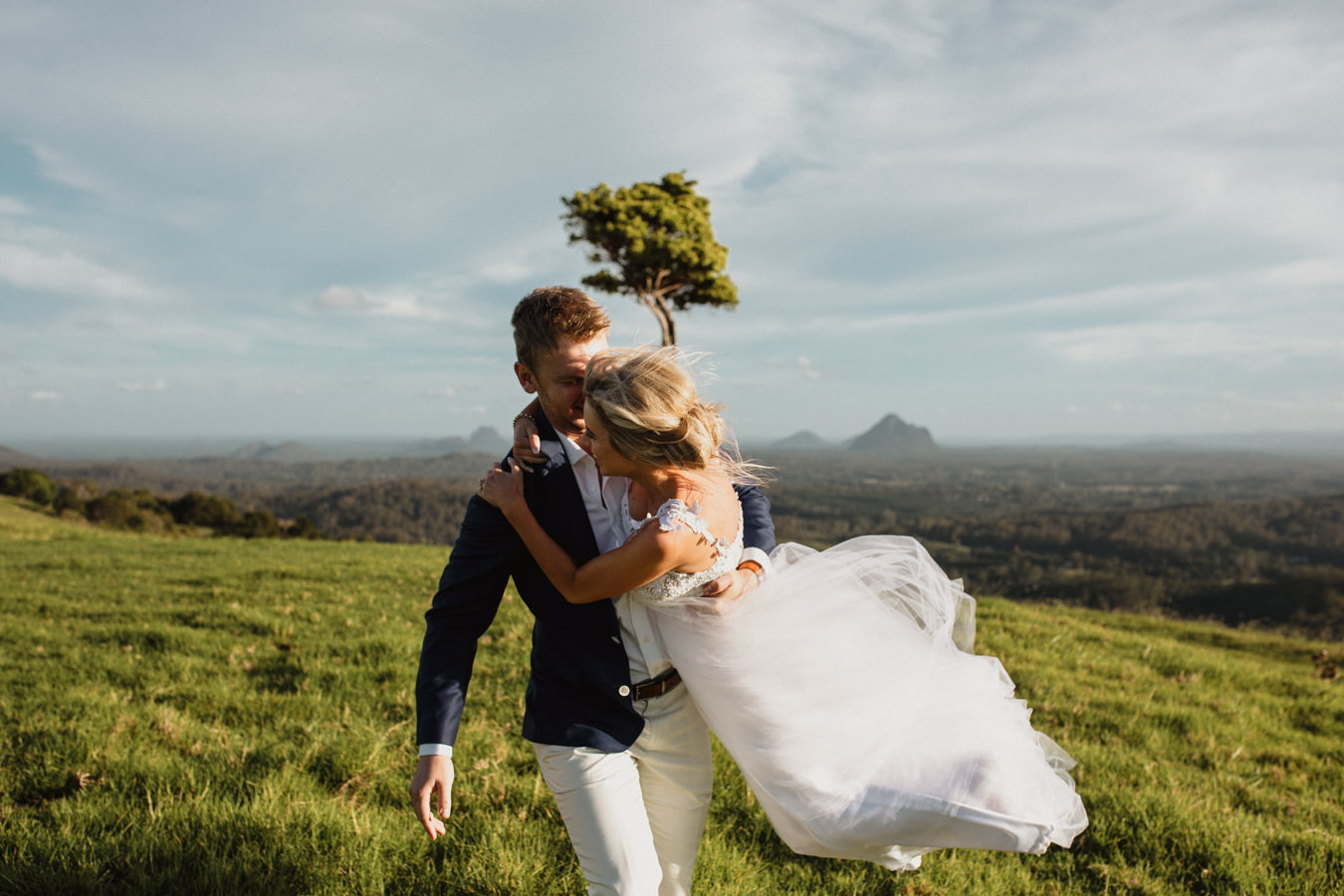 Sunshine Coast Wedding Photographer's Portfolio Images