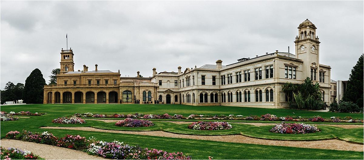 Ash + Michael : Melbourne Mansion Hotel   Luke Middlemiss