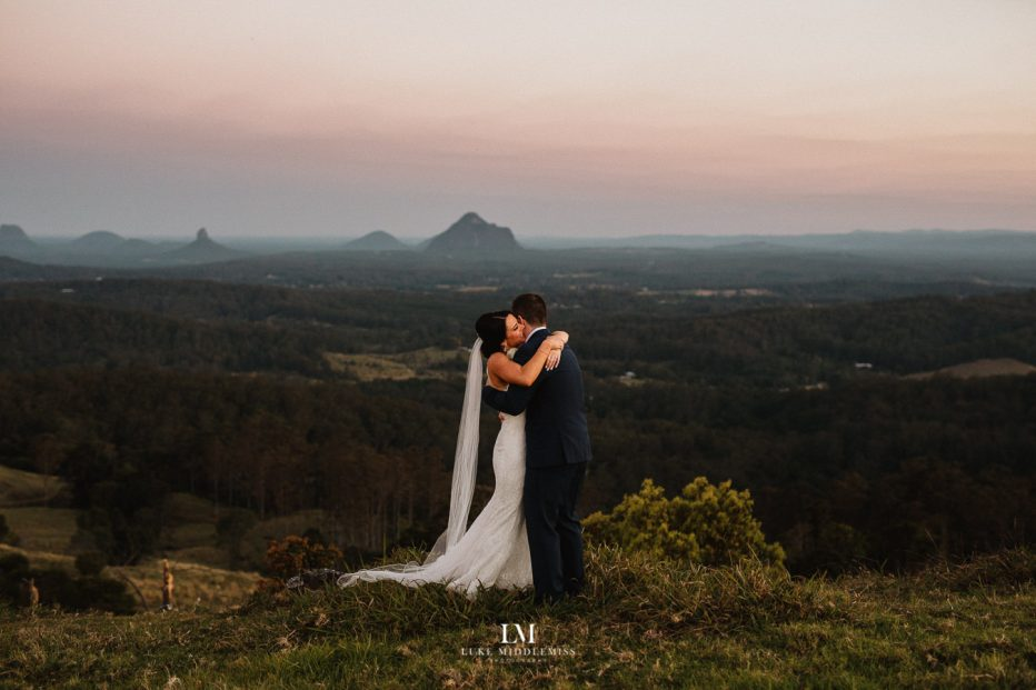 Maleny Manor Wedding Venue and Luke Middlemiss Photography from Sunshine Coast Wedding Photographer