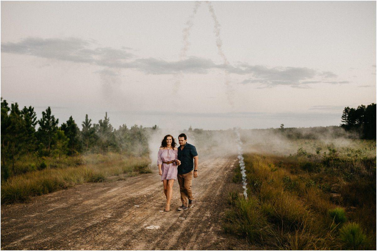 Melinda + Andrew Engagement Pine Forest Sunshine Coast
