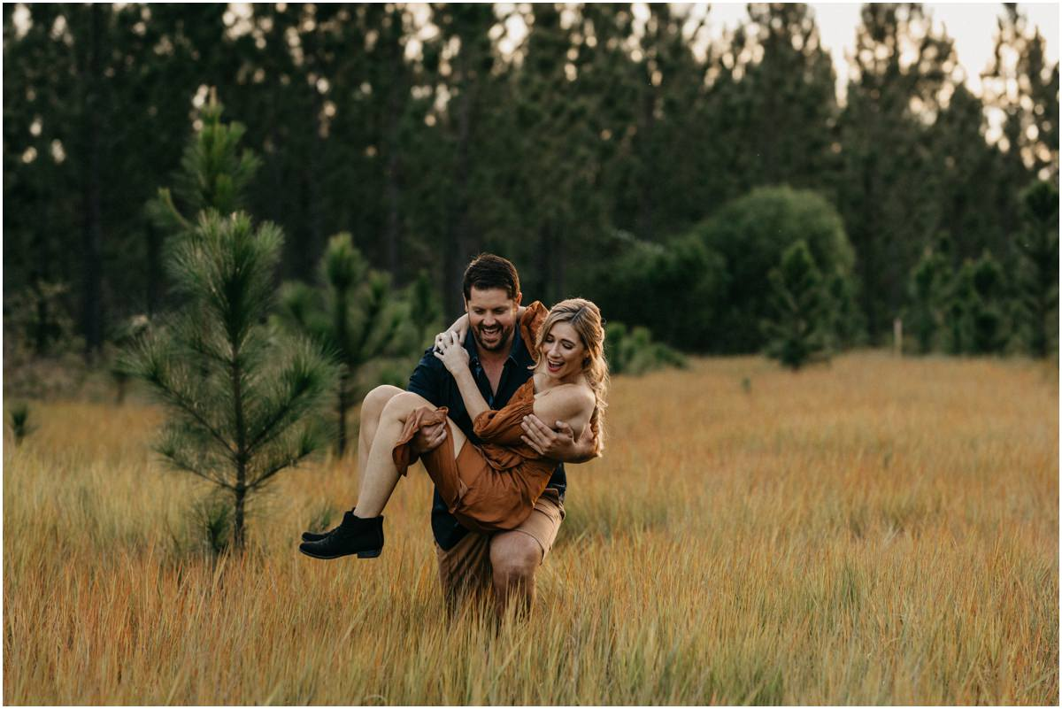 Pine Forest Sunshine Coast Engagement Photography
