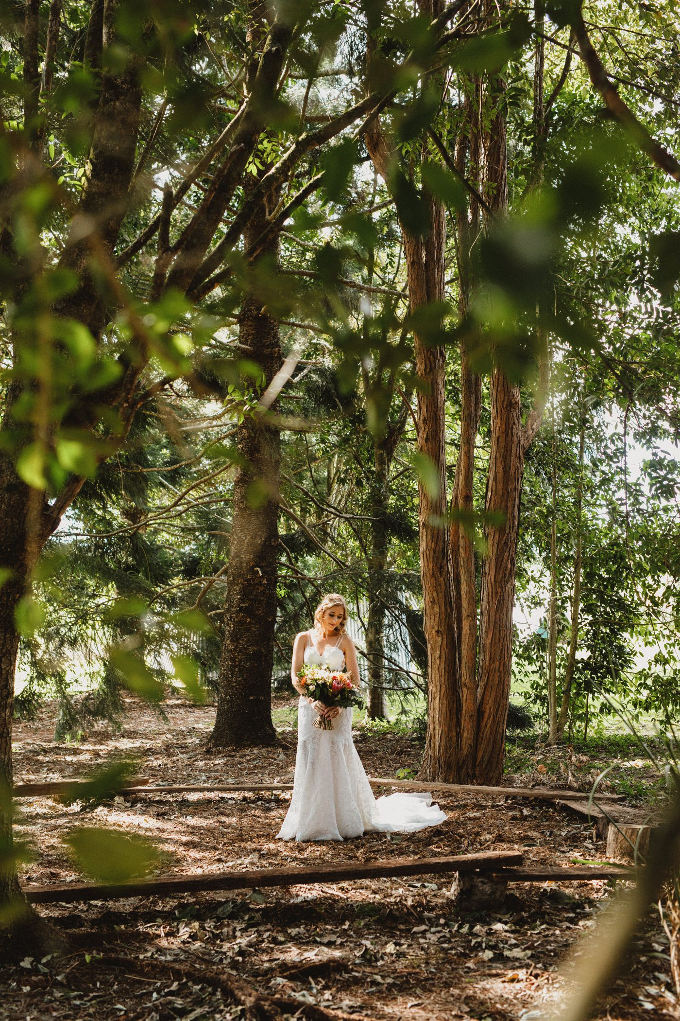 Monica and Lindsay at Maleny Retreat Weddings with Luke Middlemiss Photography