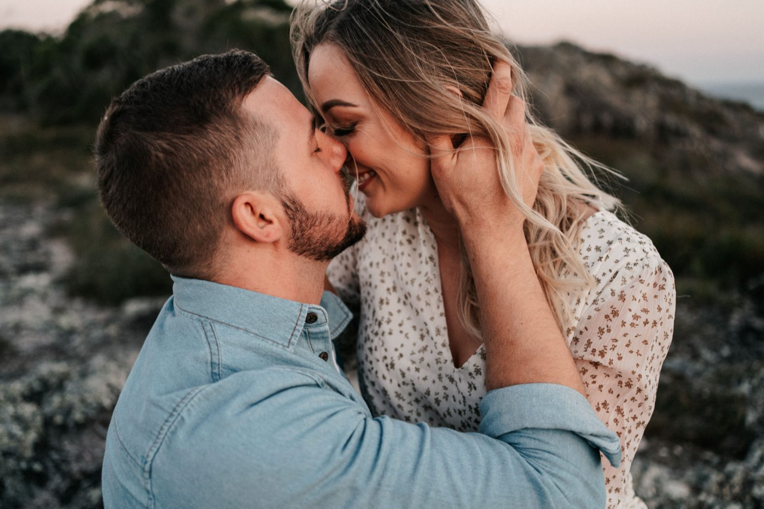 SUNSHINE COAST ENGAGEMENT WITH MADELINE + BLAKE ON EMU MOUNTAIN
